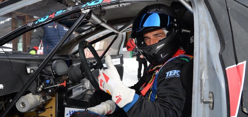 Sergio Durante winner of the Ice Challenge 2018