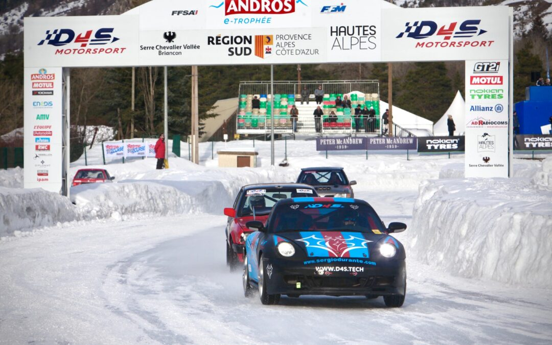 Ice Racing 2020: D4S main sponsor of the International Championship in France