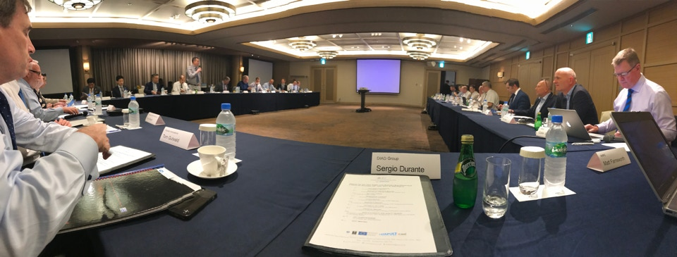 AMRC with Boeing Board Meeting in Nagoya at OSG Corporation