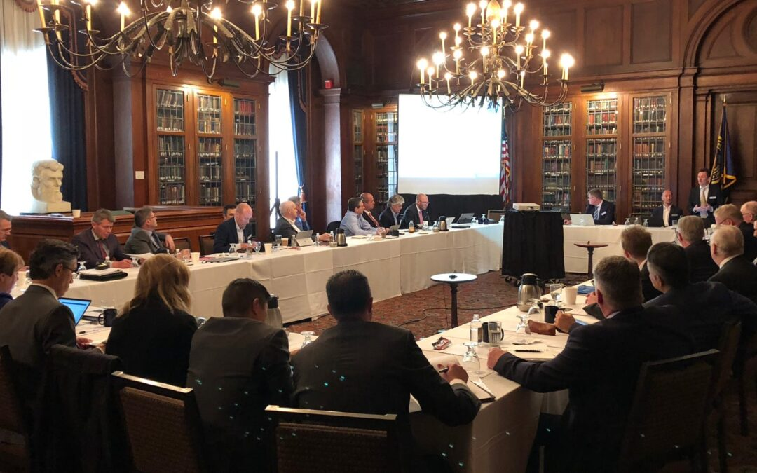 AMRC with Boeing Board Meeting in Philadelphia at Hangsterfer's